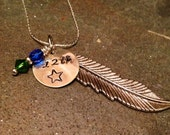 Seattle Seahawks 12th Man Football Necklace