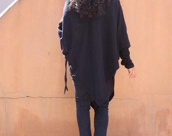 Trendy Blouse...Blouse...Funky Blouse ...Color Black