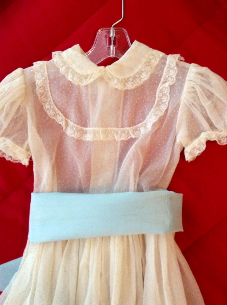 1950s Flower Girl Dress Flower Girl Dress Vintage Style