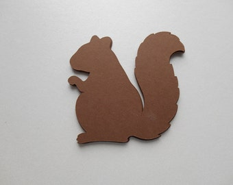 3 Inch Squirrel And Acorn  Party Decoration,Barbecue,Birthday