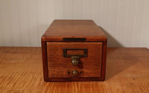 antique oak library bureau sole makers vintage school or. Black Bedroom Furniture Sets. Home Design Ideas