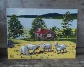 Vintage Swedish Needlepoint
