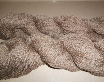 Shetland jumper weight 2 ply moorit brown colorwork Fair Isle yarn knitting sport weight