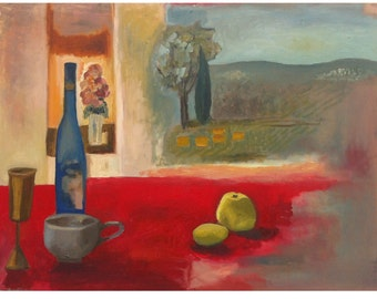 """Sale  !!!    Landscape  ,Original oil  Painting  , 60 X 80 cm,  24"""" x 31.5"""","""
