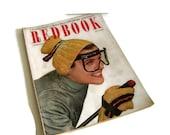 Vintage Magazine, Redbook, February 1950, Home Decor, Retro Fashion, Mid Century, Vintage Advertising, Scrapbooking