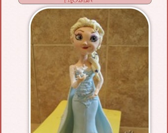 Snow Queen Elsa Step by Step Tutorial