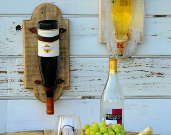 The Cumberland single bottle wine rack