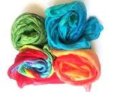 CUSTOM Elements - Set of four (full size) play silks