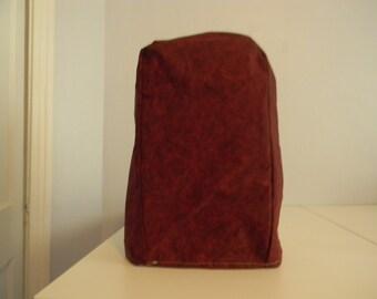 Blender Cover - Burgundy/Garnet Fabric