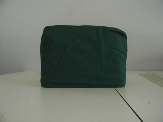 two slice toaster cover green fabric. Black Bedroom Furniture Sets. Home Design Ideas