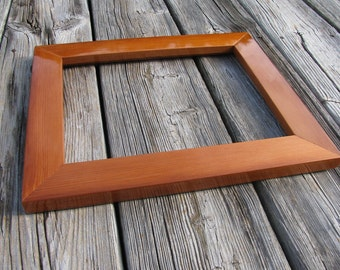 """8""""x10"""" Picture Frame Redwood Clear Heartwood"""