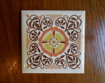 Decorative Tile from the 1960's