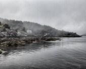 Landscape Photography - Deadman Cove, Monhegan Island, Maine -  8x12