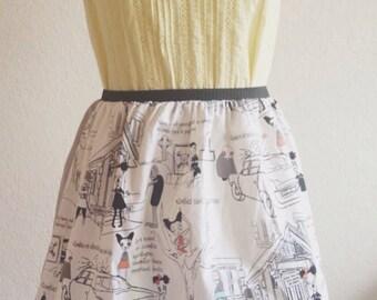 Zombie Apocalypse Tips Skirt- Size S/M