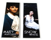 "Snow White/Mary Margaret ""Once Upon A Time"" Laminated Bookmark 2x6"