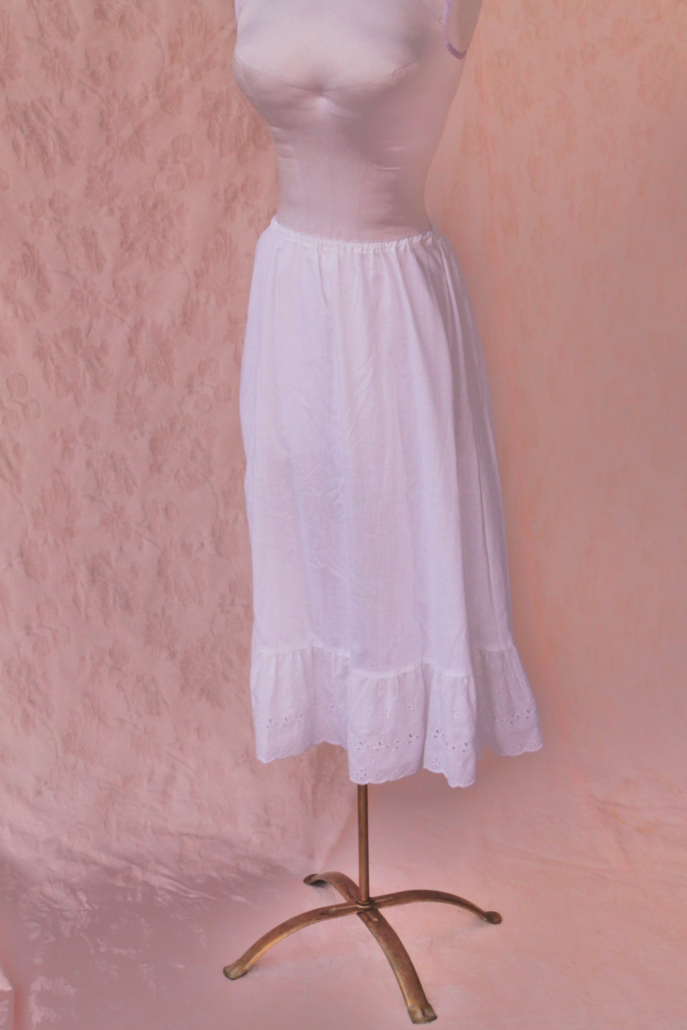 White Prairie Skirt 50