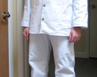 Vintage Prison Uniform Costume