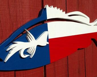 Texas Bass - Fly Fishing Art