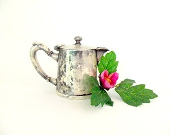 Small Pitcher Cream Pitcher, Albert Pick and Co, 5192 10 oz, Silver Plated on Nickel Silver