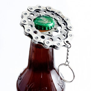 Recycled Bike Bottle Opener