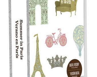 Summer in Paris, NEW Cricut Cartridge