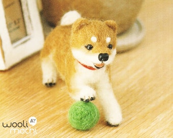 Miniature Shiba Needle Felting Kit