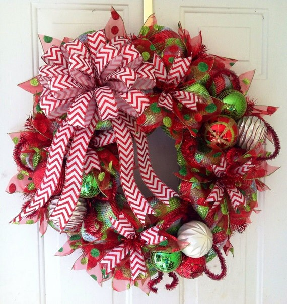 Deco Mesh Christmas Tree Wreath: Your Place To Buy And Sell All Things Handmade