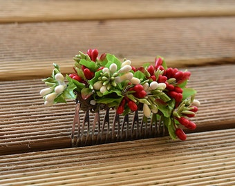 Wedding  Flower Hair Combs, Wedding Hair Flower Combs. Bridal Hair Pieces,  For Women Accessories, Women Accessories