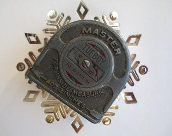 Antique Measuring Tape Master Tuff Boy made in USA