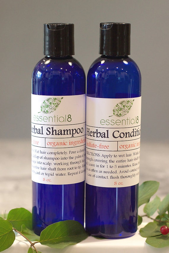sulfate free shampoo and conditioner set by myessential8 on etsy. Black Bedroom Furniture Sets. Home Design Ideas