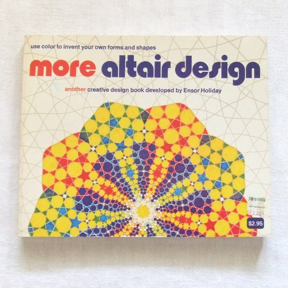More Altair Design by Ensor Holiday 1974 Book by TextilesandThings