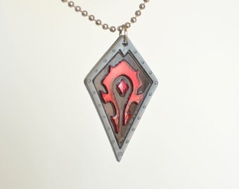 Warcraft Horde Necklace World of Warcraft WoW