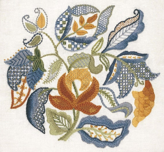 Crewel Embroidery Kits With Cat Designs