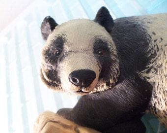 Panda Wall Hanging Chalkware Bossons ENGLAND