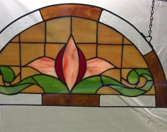 Stained Glass Arch Panel