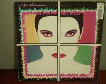 """The Motels """"All Four One"""" vinyl record"""