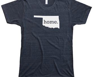 Homeland Tees Men's Oklahoma Home T-Shirt