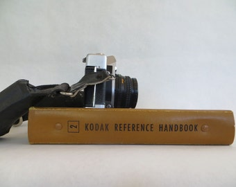Vintage photography book, Kodak Reference book 2, vintage Kodak instruction manual, black & white photography, darkroom, mid-century photos