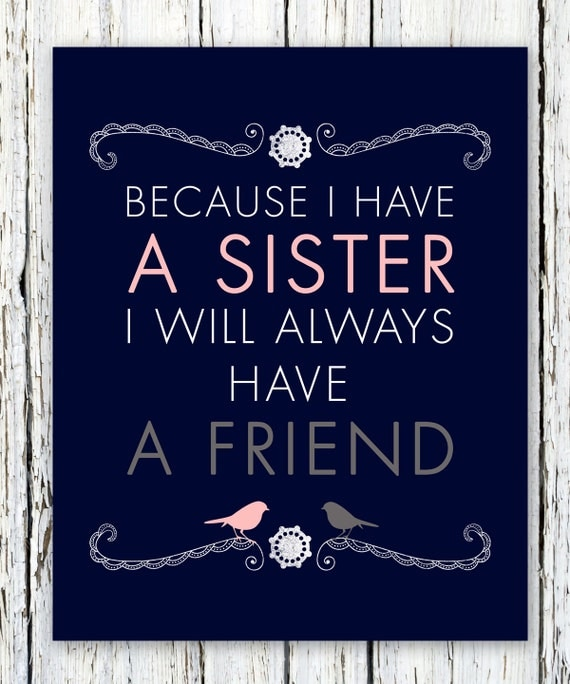 Items Similar To Sisters Personalized Gift