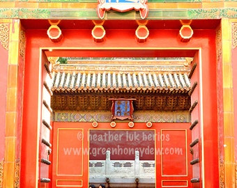 Beijing Photography - Forbidden City - China - Asian Fine Art Photography