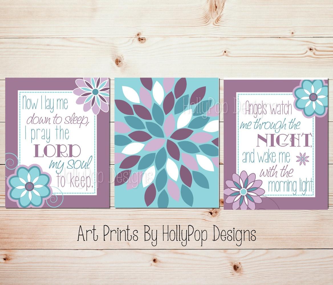 Girly Bedroom Items: Girl Nursery Art Baby Decor Girl Bedroom Prints Baby Girl