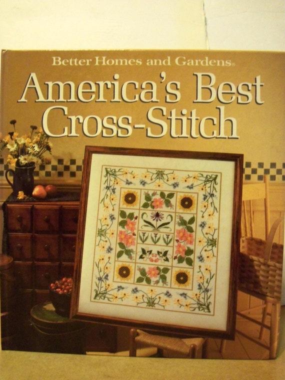 America's Best Cross-Stitch  - Better Homes & Gardens
