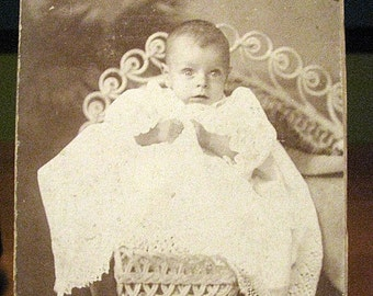 Vintage Photo of a Baby