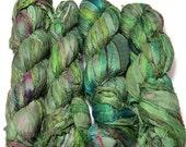SALE Premium Sari Silk  Ribbon 1 skein, Renaissance
