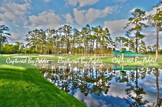 Augusta National Golf Course Georgia Hole 16 Print