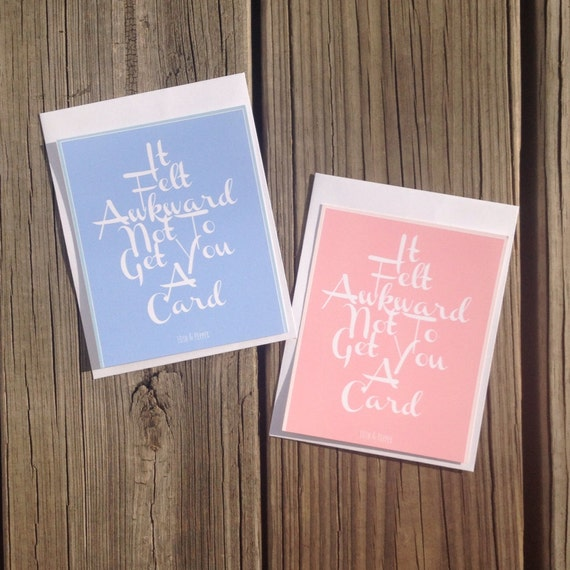 Greeting Cards the Awkward Store