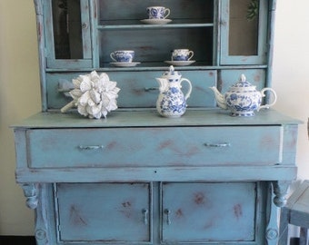 French Country Style  Shabby Chic Buffet