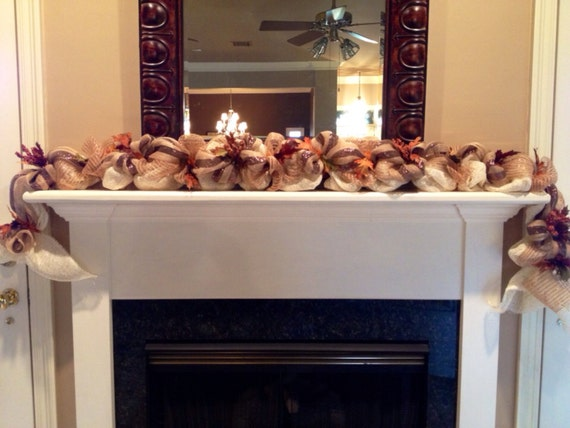 Fall Garland Autumn Garland Fall Decor By Lafetedecor On Etsy