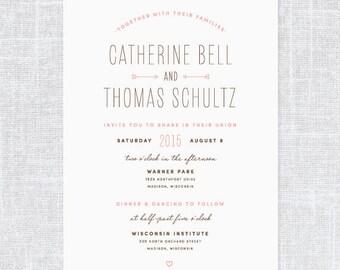 Shiva Wedding Invitation Suite | Print-it-Yourself