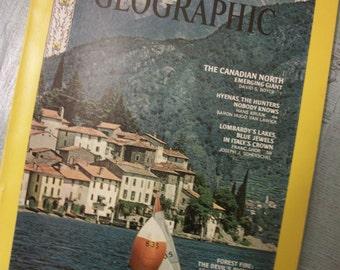 Vintage National Geographic Magazine July 1968, Vol. 134, No. 1